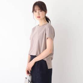 コットンシルケットバックバーTシャツ【WEB限定サイズ】 (タバコブラウン)