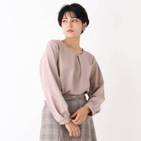 カットジョーゼットバーブラウソー【WEB限定アイテム】 (ピンク)