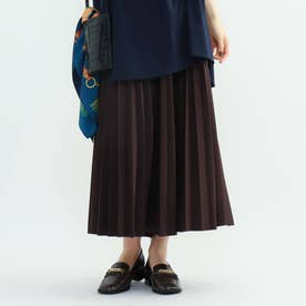 【ハンドウォッシュ】ダンボールプリーツスカート (ダークブラウン)