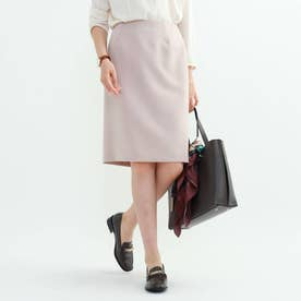 [L]【マシンウォッシュ/UV】ハイストレッチタイトスカート (ベビーピンク)