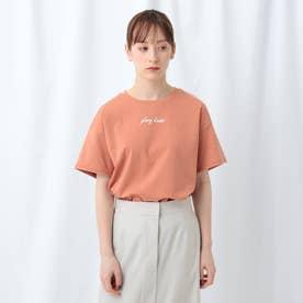 「L」【WEB限定】ロゴ半袖Tシャツ (ダークオレンジ)