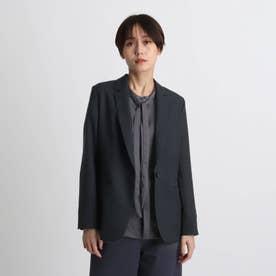 【otonaMUSE掲載予定商品/エコ/洗える】シャンブレーテーラードジャケット (ネイビー)