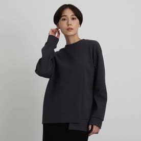 【WEB限定カラー】ブークレープルオーバー (ダークグレー)