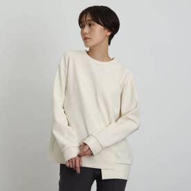 【WEB限定カラー】ブークレープルオーバー (オフホワイト)