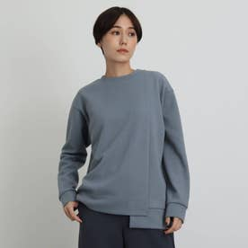 【WEB限定カラー】ブークレープルオーバー (サックス)