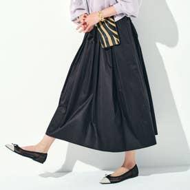 ギャザースカート(ブラック)