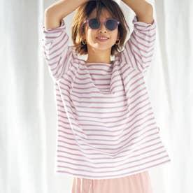 《SUPERIOR CLOSET×STORY》くすみカラーのバスクシャツ《Traditional Weatherwear》 (ラベンダー)