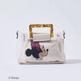 ●【LOWELL限定/Disneyデザインアイテム】4WAYビニールショルダー (アイボリー)