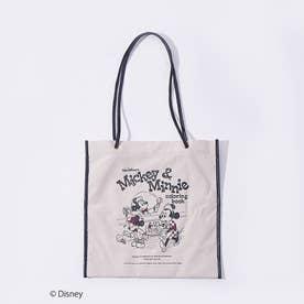 ●【LOWELL限定/Disneyデザインアイテム】 ダブルフェイスフラットトー (ブラック)