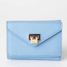 薄型3つ折財布 (ライトブルー)