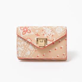 薄型三つ折り財布 (ベージュ)