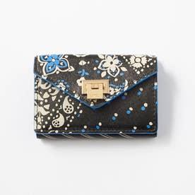 薄型三つ折り財布 (ブラック)
