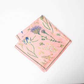 ★manipuri/Native flower スカーフ (ピンク)