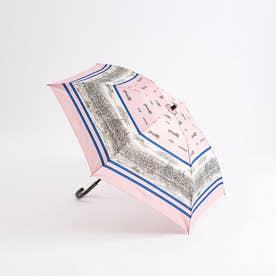 ★manipuri/【晴雨兼用】折りたたみ傘タウンエスケイプ (ピンク)