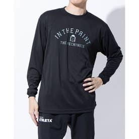 バスケットボール 長袖Tシャツ LONG SLEEVE SHIRTS ITP20403 (ブラック)