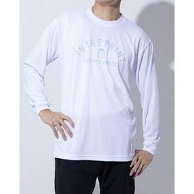 バスケットボール 長袖Tシャツ LONG SLEEVE SHIRTS ITP20403 (ホワイト)