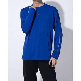 バスケットボール 長袖Tシャツ LONG SLEEVE SHIRTS ITP20404 (ブルー)