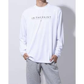 バスケットボール 長袖Tシャツ LONG SLEEVE SHIRTS ITP20405 (ホワイト)