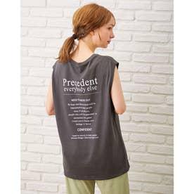 バックロゴフレンチS/Tシャツ (スミクロ)
