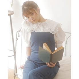 BIGフリル衿TC/5分袖BL (オフホワイト)