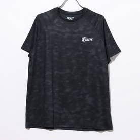 総柄Tシャツ (01/ブラック)
