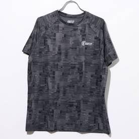 翁格子柄Tシャツ (01/ブラック)