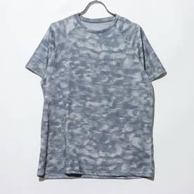総柄Tシャツ (02/グレー)
