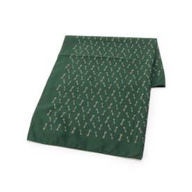 ビット柄スカーフ (グリーン(022))