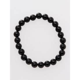 【岩座】黒水晶φ8ブレスレット ブラック