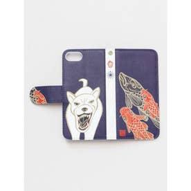 【岩座】iPhone8/7兼用 手帳型ケース KiーYan 向干支携帯衣 その他5