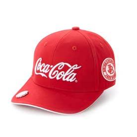 ゴルフ キャップ 【Coca-Cola】キャップ 2621187540 (レッド)
