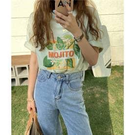 モヒートTシャツ (グリーン)