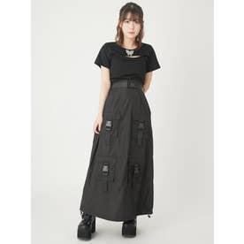 プリーツスカート (ブラック)