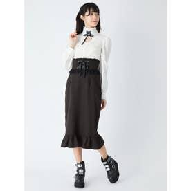 コケティッシュタイトスカート (ブラック)