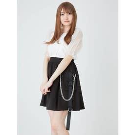 ハーネスチェーンスカート (ブラック)