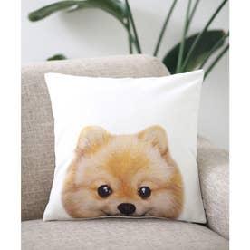 Miart × コラボ クッションカバー ペットデザイナー 犬 猫 (ホワイト系その他5)