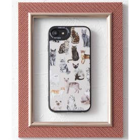 【SE/7/8対応】TPU 鏡面 名画やペットデザイン iPhone スマホケース (その他4)