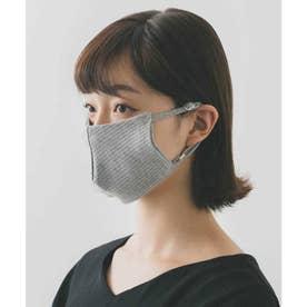 肌に優しい オーガニックコットンマスク (グレー)【返品不可商品】