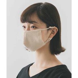 肌に優しい オーガニックコットンマスク (ベージュ)【返品不可商品】