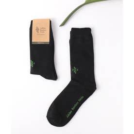 竹でできた防臭靴下 バンブーデオドラントソックス (ブラック)