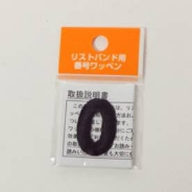 Japana リストバンド バンゴウワッペン 0 ブラック