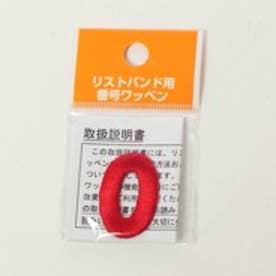 Japana リストバンド バンゴウワッペン 0 レッド