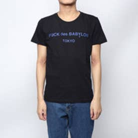 (ユニセックス) :× RUGGEDコラボレーションTシャツ -ブラック (ブラック)