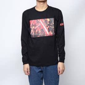 × STAR WARS ロングスリーブTシャツ ダース・ベイダー (ブラック)