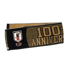メンズ サッカー/フットサル ライセンスグッズ 100周年記念タオルマフラー(ブラック) O4-796 (ブラック)
