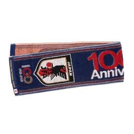 メンズ サッカー/フットサル ライセンスグッズ 100周年記念タオルマフラー(JFAブルー) O4-797 (ブルー)