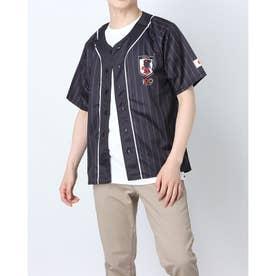 メンズ サッカー/フットサル ライセンスジャケット 100周年記念応援シャツ O4-792 (ブラック)