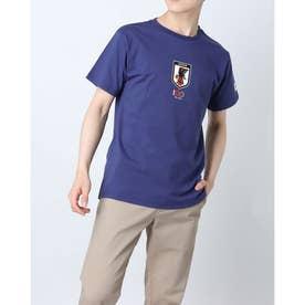 メンズ サッカー/フットサル ライセンスジャケット 100周年記念Tシャツ O4-784 (ブルー)
