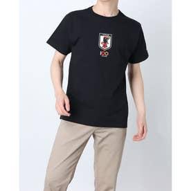 メンズ サッカー/フットサル ライセンスジャケット 100周年記念Tシャツ O4-788 (ブラック)