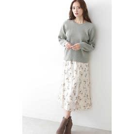 ◇フロッキーマーメイドスカート ホワイト
